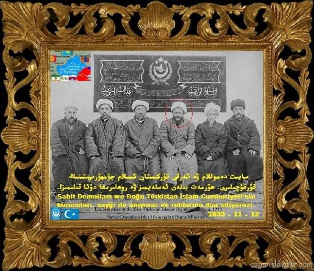 Jumhuriyetning Qurghuchilliri.Sabit Dewmullam
